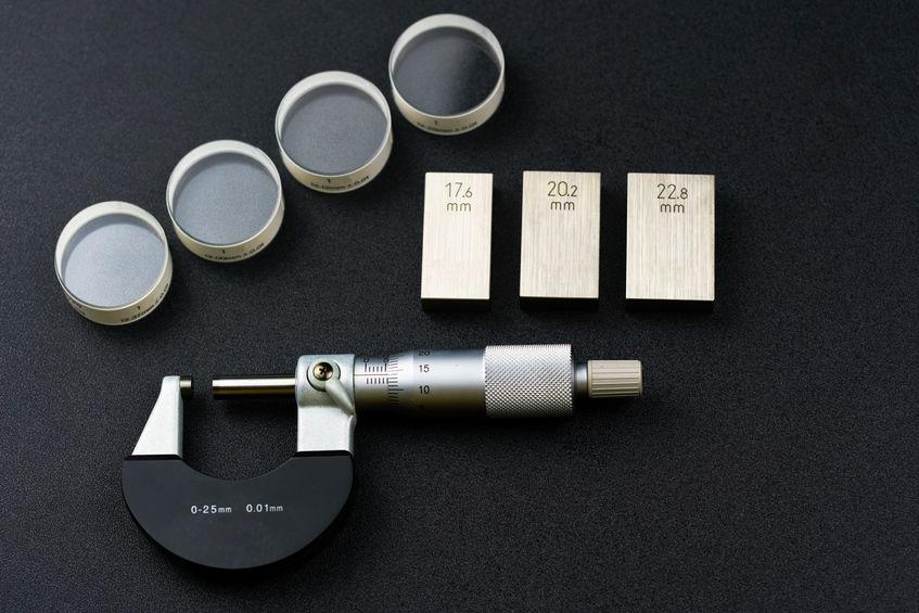 micrômetro e acessórios