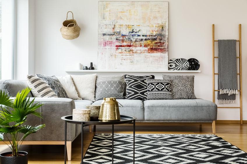 alfombra de hogar con tapete