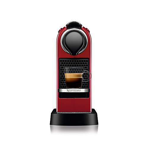 Nespresso CitiZ Cafeteira 110V, máquina de café Espresso doméstica, cápsula / cápsula elétrica automática (vermelho cereja)