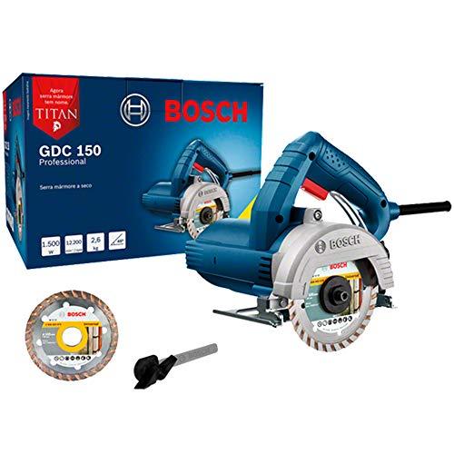 Serra Mármore Bosch GDC 150 TITAN 1500W 127V com 1 disco